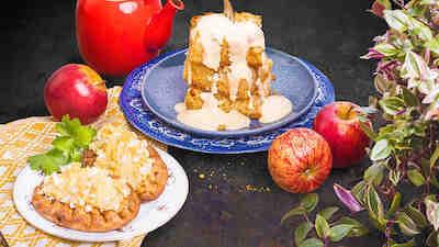 Omenapiirakka riisipiirakka Presso