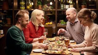 rosso, pikkujoulut, italia, italialaisittain. mikkeli, #savonparhaatpikkujoulut, jouluruokaa, s-etukortti, asiakasomistaja