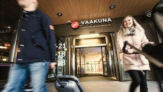 Julkisivu, Original Sokos Hotel Vaakuna Joensuu, Hotelli, Majoitus