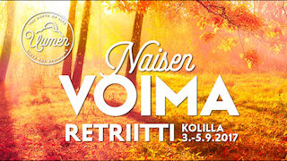 Naisen Voima retriitti 3.-5.9.2017