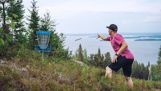Break Sokos Hotel Koli Pohjois-Karjala North Karelia Finland Suomi hotelli majoitus frisbeegolf disc golf