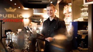 Public Cornerin ravintolapäällikkö Peter Lampinen