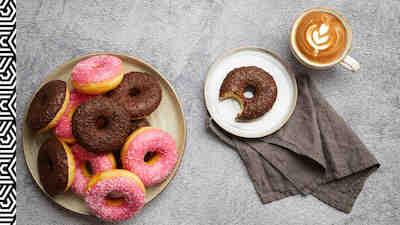 coffee house cappuccino donitsi
