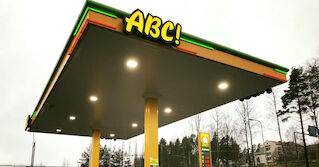 Keskimaa rakentaa S-market Korpilahden pihaan ABC automaattiaseman