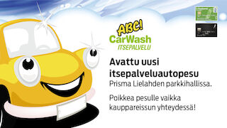 ABC CarWash Itsepalvelupesu Lielahti 2014