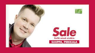 Sale Suuppa palvelee pirkkalalaisia 21.6. alkaen