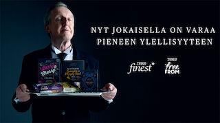 Pieni ylellisyysloikka suomalaisten ruokapöytiin - S-ryhmä ja Tesco yhteistyöhön