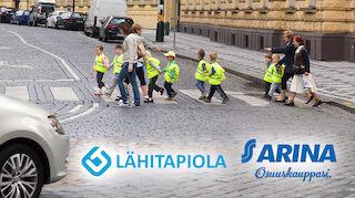 Pohjois-Suomen päiväkotilapsille turvaliivejä – yhteistyössä LähiTapiola ja Arina