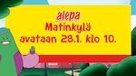 Avaamme uuden Alepa Matinkylän 28.1. klo 10
