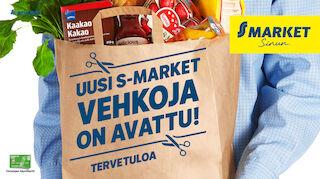 S-market Vehkoja avattu