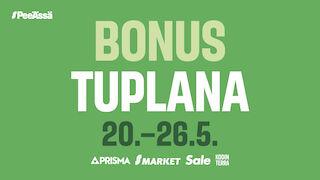 Bonus Tuplana 20.-26.5.2019