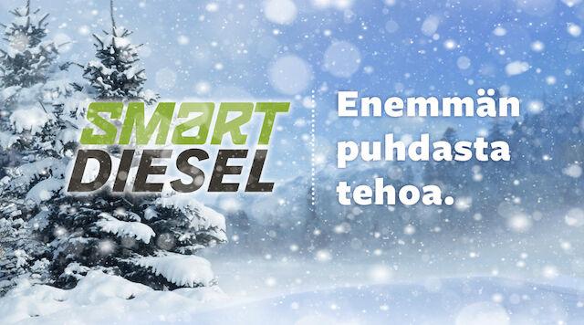 Tarkista dieselin pakkaskestävyys ABC-asemalla tai ABC-mobiilissa