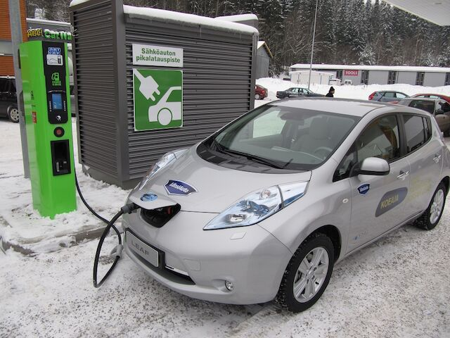 Fortum Charge & Drive -pikalatauspisteet päivitetty Suomessa