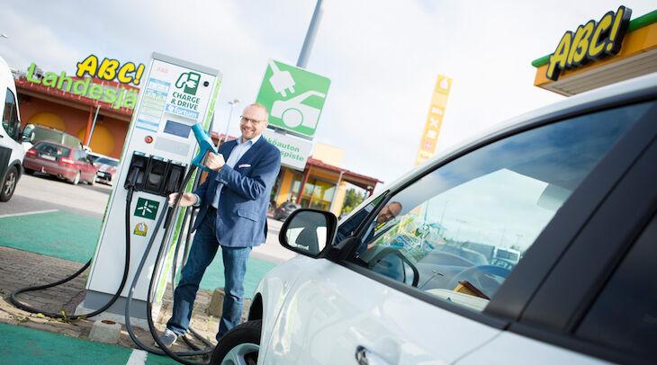 ABC:n pikalatauspisteet tärkeitä sähköautoilijalle