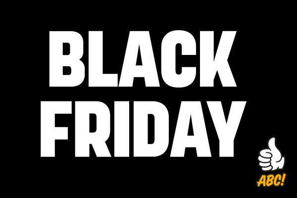 Black Friday pimentää hinnat ABC Ravintolassa!