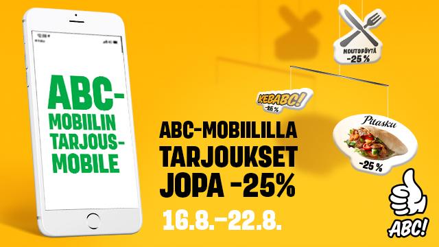 ABC:n Mobiiliviikko on täpötäynnä tukevia tarjouksia!