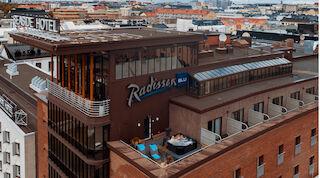 Radisson Blu Seaside suite