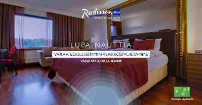 Radisson Blu Hotellien uudet Omistajan sivut on julkaistu