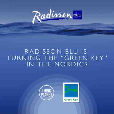 Ympäristöministeri Sanni Grahn-Laasonen luovutti ensimmäiset Green Key -sertifikaatit Radisson Blu Hotelleille