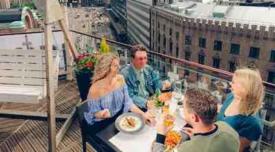 kesäterassi näköala terrace helsinki outdoor dining