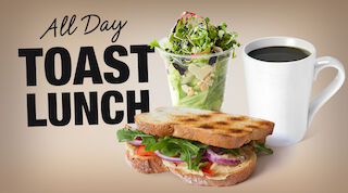 Coffee House All Day Toast Lunch Raflaamo