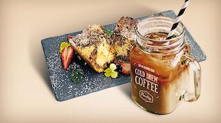 Coffee House Cold Brew Coffee & Suklaamuffinikakku Raflaamo