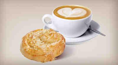 Toscapulla ja cappuccino Coffee House