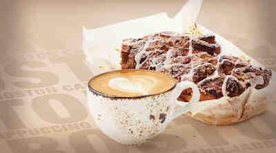 Coffee House vaniljaboston & cappuccino Raflaamo