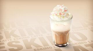 Coffee House Mansikkaeskimo Latte Raflaamo