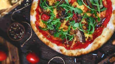 Rosso Pizza Vegana