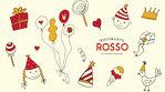 Lastenjuhlat Rosso Raflaamo