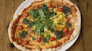 Rosso vegan vegaaninen pizza