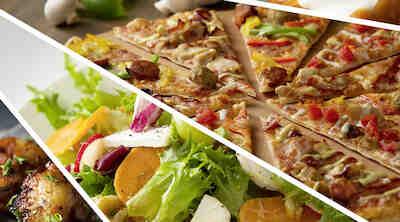 Pizzabuffa Uusi lounasbuffet vie kielesi