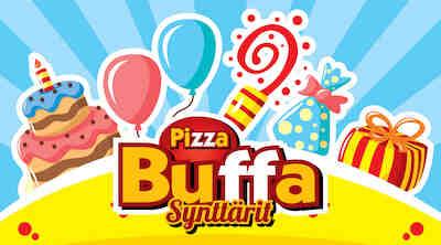 Buffaa päivänsankarille! pizzabuffa raflaamo