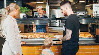 pizza & buffa