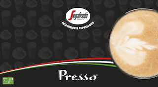 Presso Segafredo appelsiinijäälatte Raflaamo
