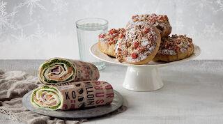 Presso leipärulla tai jolulupulla Raflaamo