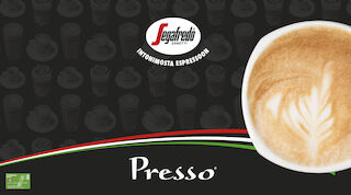 Presso Segafreso inkivääri-cappuccino Raflaamo