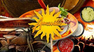 Amarillo lounas vantaa texmex flamingo burger hampurilainen