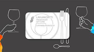 Ravintolalahjakortti