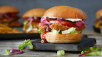 Rapido crispy chicken burger