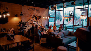 Restaurang, Rosso IsoKristiina, bar, VENN, mat och dryck, pizza, pasta, Original Sokos Hotel Lappee, IsoKristiina, Lappeenranta, Villmanstrand,