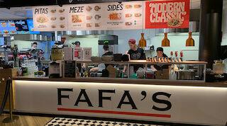 Fafa's, pita, falafel, ruoka, juoma, Ravintola, IsoKristiina, Original Sokos Hotel Lappee, Lappeenranta