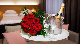 tilläggstjänster, rosor, choklad, Original Sokos Hotel Lappee, LappeenrantaVillmanstrand