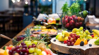 Aamiainen; Lappee; Lappeenranta; Aamiaisbuffet; Original Sokos Hotel Lappee; Rakuuna Banquet; Lappeenranta; Ravintola
