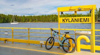 pyöräily, lappeenranta, kesä, saimaa