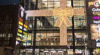 Kauppakeskus valkea joulu joulunavaus