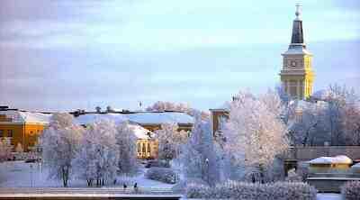 joulu oulu talvi