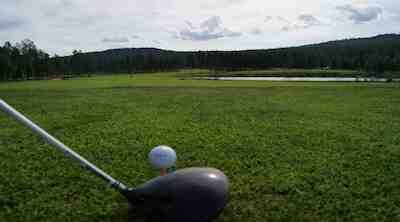 Golfia ilman Green Cardia 4 reikää, Levi Outdoor Fest