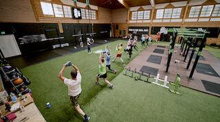 kuntosali, levi wellness club, lappi, voimaharjoittelu, treeni